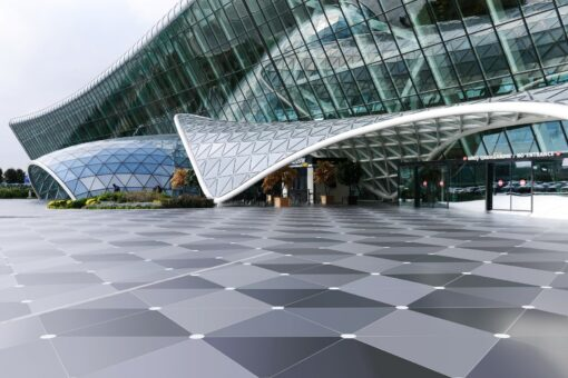 The skin of the structure  - Baku airport 6 dekton id 1 40