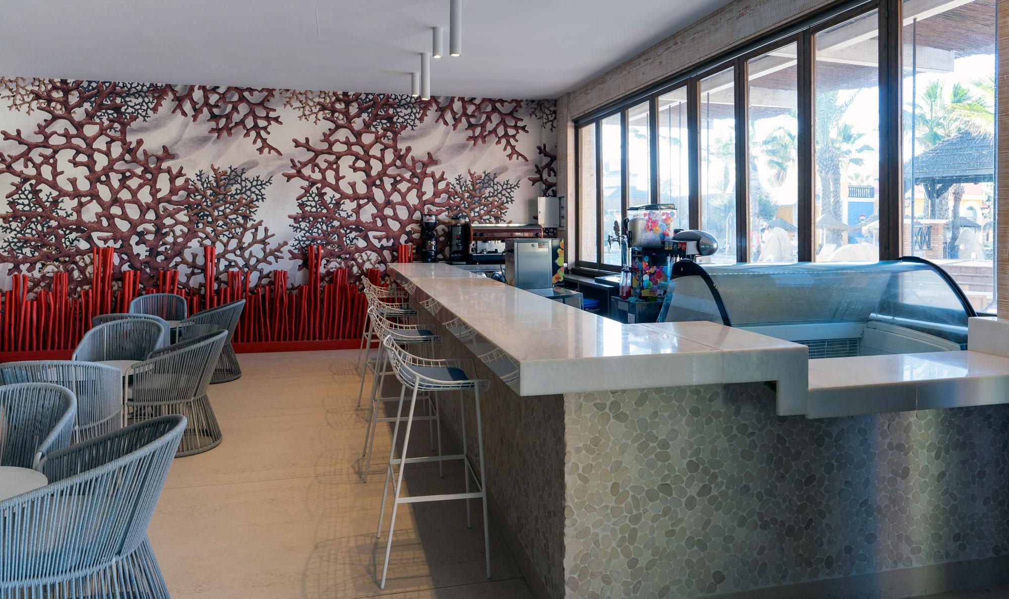 Hotel Mediterráneo  - Hotel Mediterraneo Park 11 Dekton Silestone Piedra Natural Cosentino 64