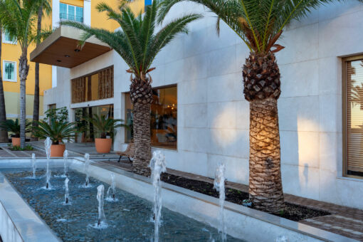Flagship Projects results  - Hotel Mediterraneo Park 5 Dekton Silestone Piedra Natural Cosentino 44