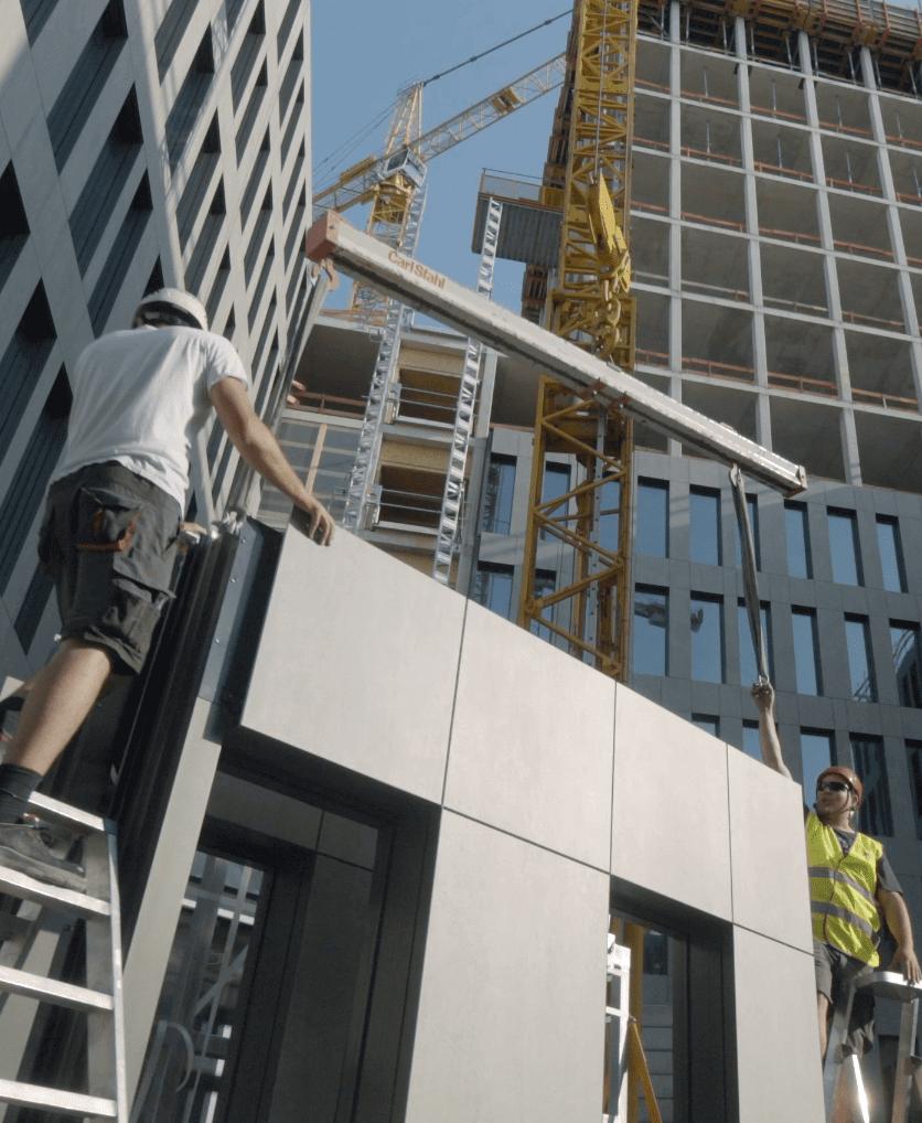 Installateurs de façades  - Instaladores de fachadas 31