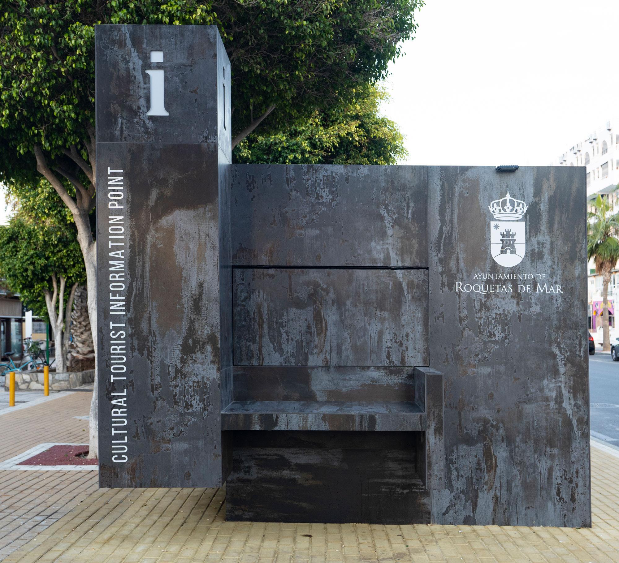 Tourist kiosk  - Kiosko Urba Roquetas 03 45
