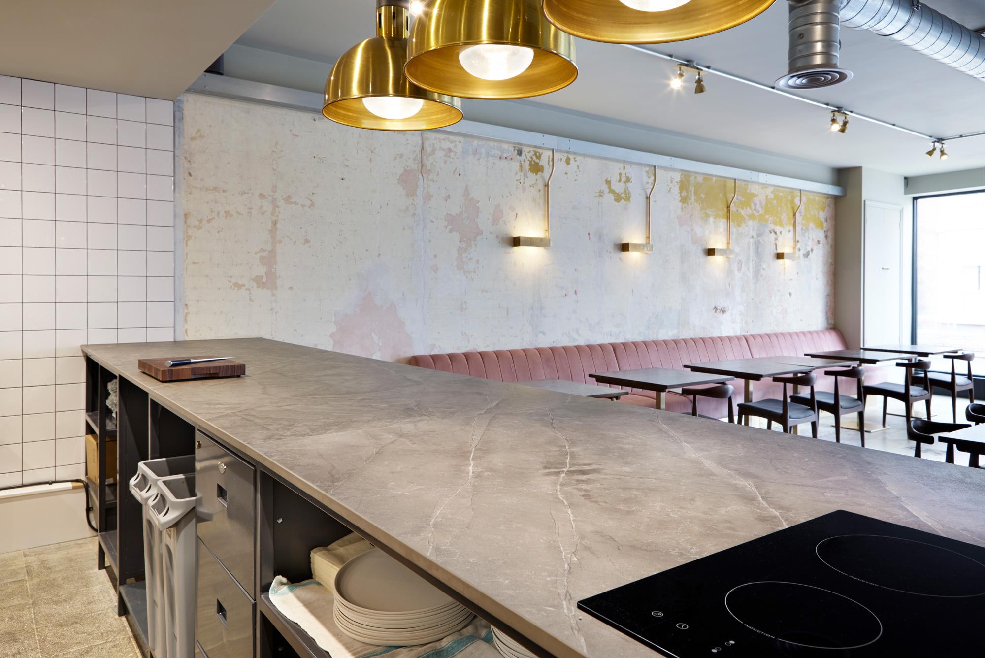 Vanderlyle restaurant  - Vanderlyle restaurant Dekton 5 49