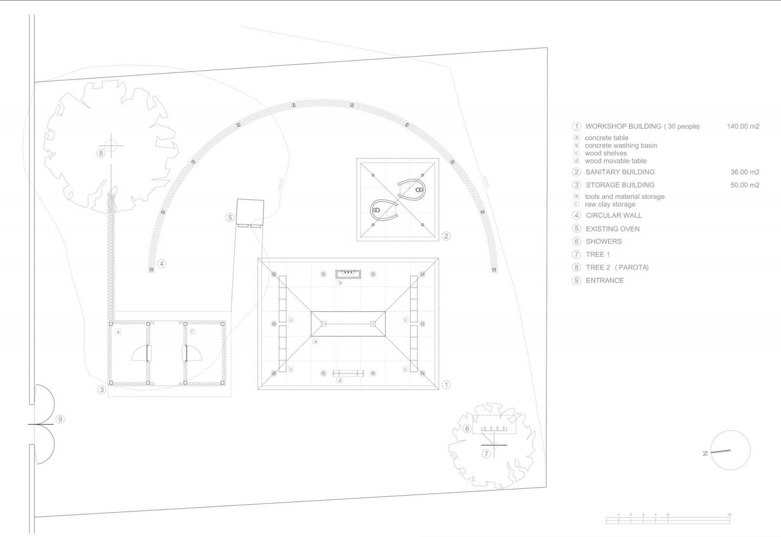 Clay Pavilion  - siza pabellon casa wabi mexico 11 32