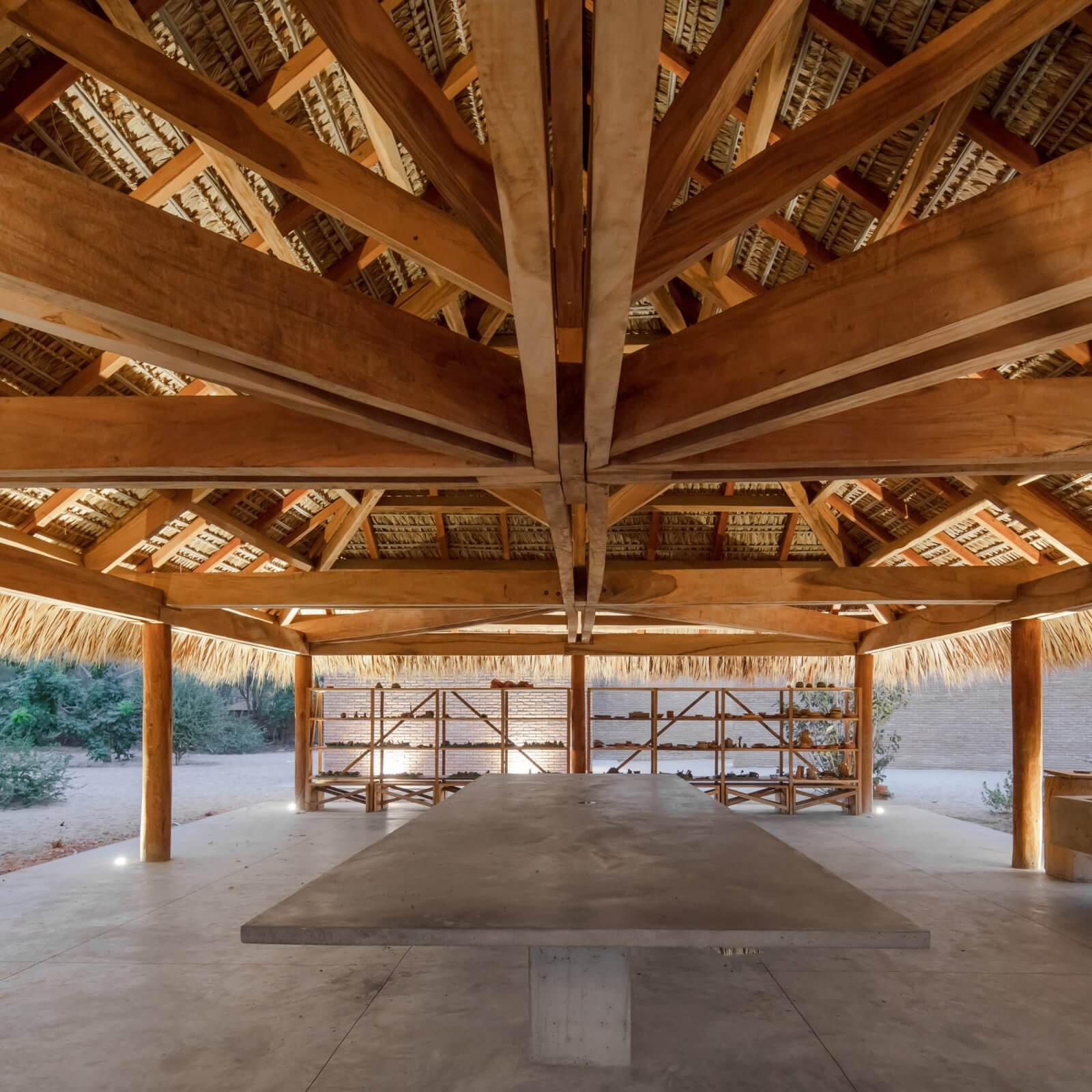 Clay Pavilion  - siza pabellon casa wabi mexico 7 46